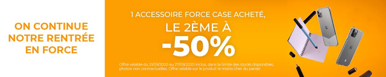 Offre Rentrée Force Case -50
