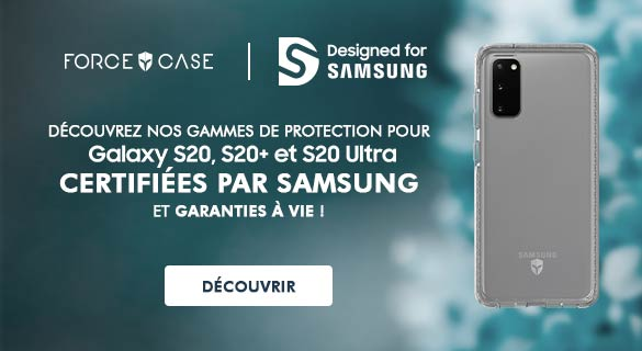 Protection certifiée Samsung S20