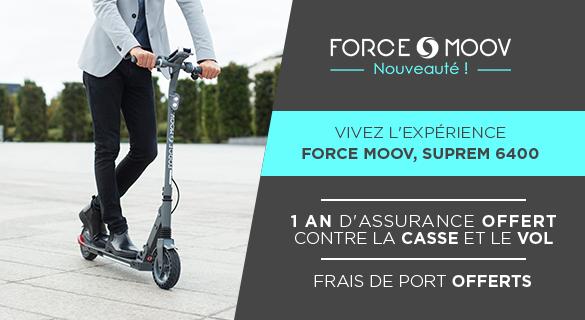 Nouveauté Trottinette électrique Force Moov Suprem 6400